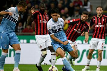 Correa Lazio Musacchio Bakayoko Milan