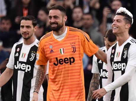 Juve: trapianto di capelli per Pinsoglio, che ringrazia Ronaldo