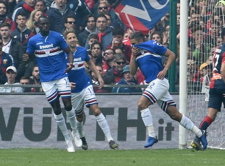 Com'è lontano quel gol di Piatek: il Genoa è solo agonismo, la Samp trionfa