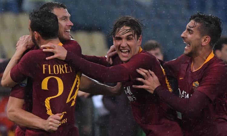 Sassuolo-Roma, le formazioni ufficiali: c'è Zaniolo con Dzeko, fuori De Rossi. Gioca Djuricic