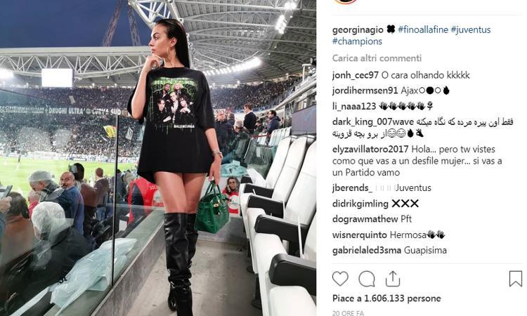 Georgina: l'unica consolazione per gli occhi dei tifosi della Juve FOTO