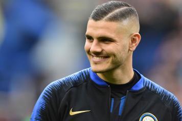 Icardi Inter sorride tuta