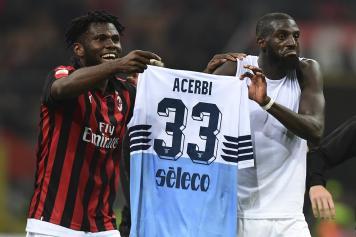 Kessie Bakayoko Milan maglia Acerbi Lazio