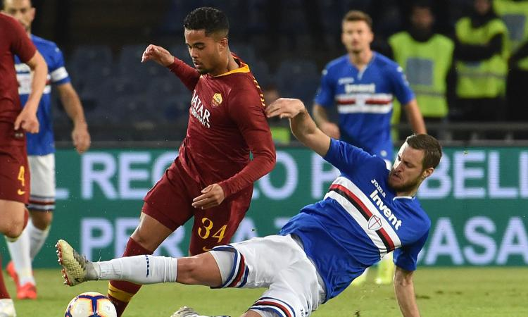 Roma, stasera tocca a Kluivert