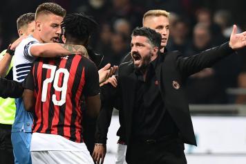 Milinkovic Lazio Kessie Milan Gattuso