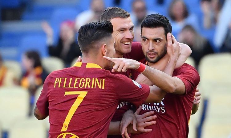 b6b1098847 Pastore scalza Schick: la Roma fa un campionato a parte con Milan e Atalanta