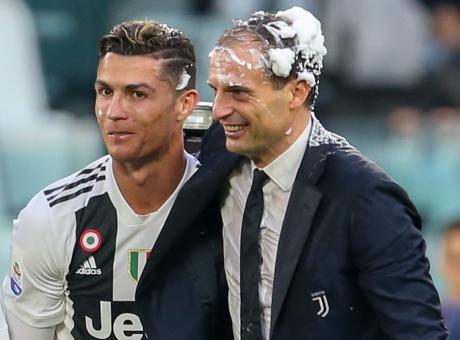 Retroscena Allegri: le parole d'addio alla sqaudra, e Ronaldo...