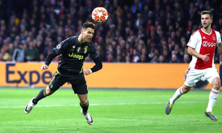 Juve, CR7 e i gol di testa in Champions: il dato è clamoroso