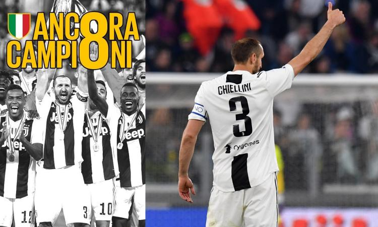 Juve scudetto - Il pagellone: Chiellini da 10, Mandzukic è decisivo, Douglas Costa non pervenuto. E Bonucci...
