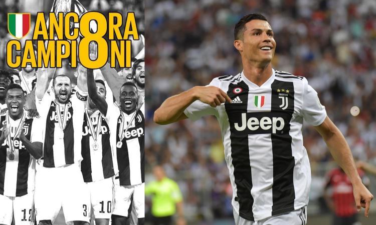 Juve scudetto - È il trionfo di Ronaldo: tutto quello che i gol non dicono