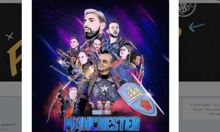 Manchester City come gli Avengers: Kompany è Capitan America, Sterling Iron Man