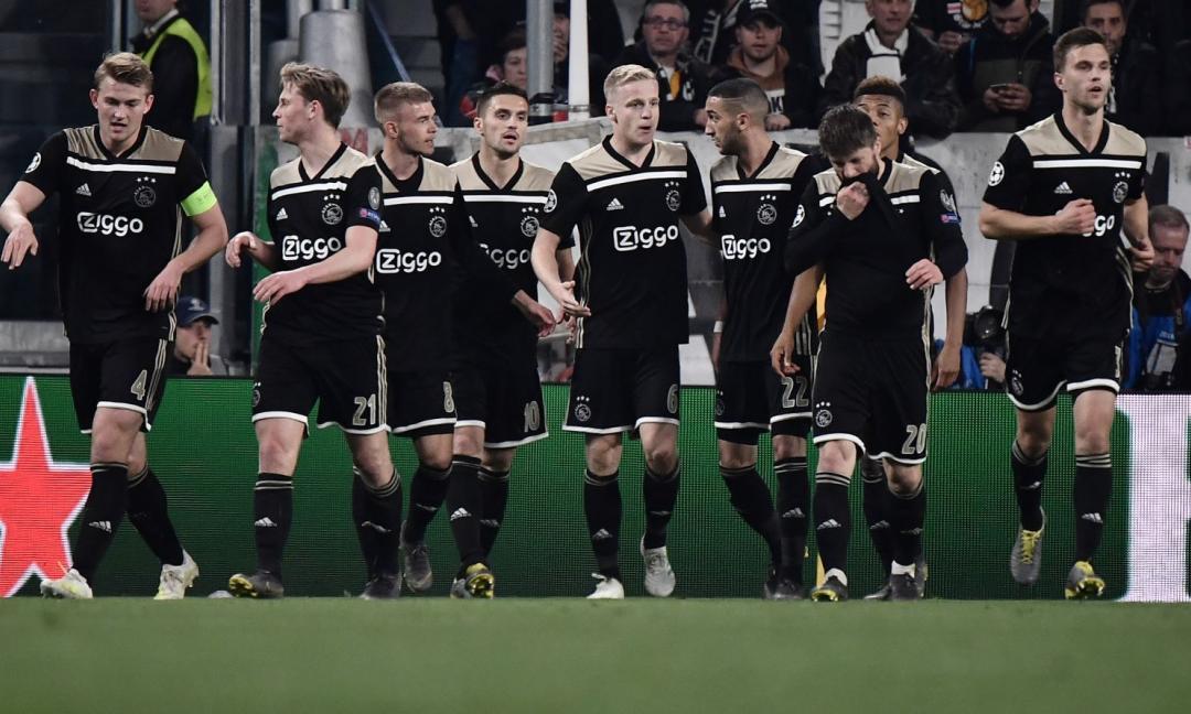 "Dal ""Calcio totale Ajax"" al ""Totale fallimento Juve"""