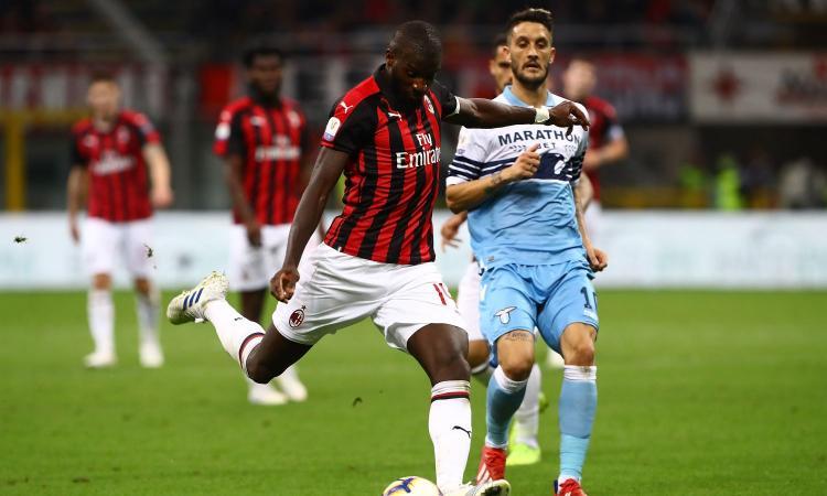 Bakayoko ferito dai cori razzisti dei laziali, ora pensa di lasciare il Milan