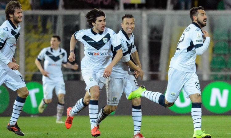 Serie B, tris di Benevento e Brescia. Vince il Lecce secondo, pari Palermo. 2-2 e spettacolo tra Foggia e Livorno