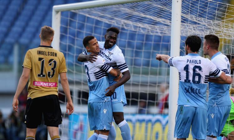 La Lazio torna a vincere: 2-0 all'Udinese, Inzaghi a -3 dal quarto posto del Milan