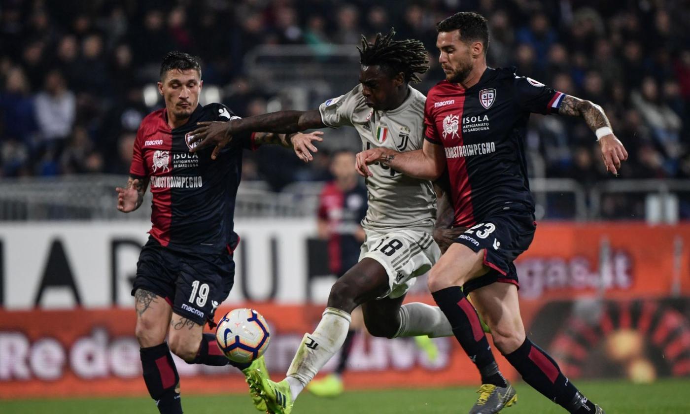 Cagliari Vs Juventus 0 2 Ft As Bonucci And Kean Got The Goals English News Calciomercato Com