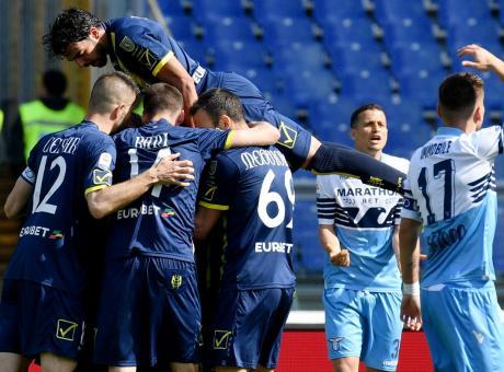 Serie A: clamoroso Lazio, ko in casa col Chievo retrocesso! Torino a 3 punti dalla Champions, vincono Spal e Bologna