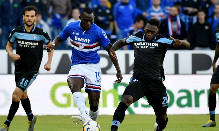 Sampdoria: defaticante per Colley, due giocatori restano in infermeria