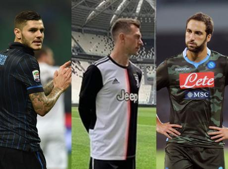 La nuova della Juve, il camouflage del Napoli, il gessato dell'Inter: ecco le 10 maglie più brutte viste in Serie A