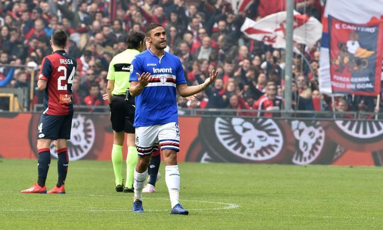 Serie A: Defrel e Quagliarella regalano il derby alla Sampdoria. Senza gol Fiorentina-Bologna e Sassuolo-Parma