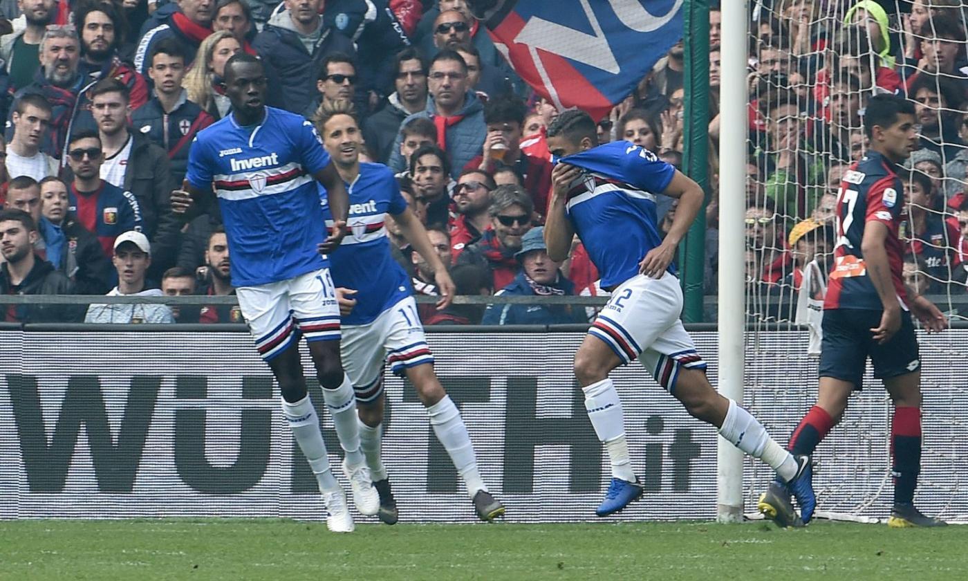 Sampdoria-Genoa 2-0: il tabellino | Serie A | Calciomercato.com