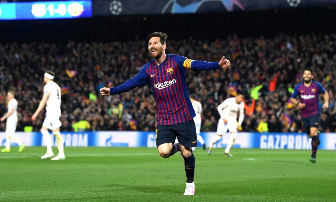 Messi senza limiti: vince per la sesta volta...