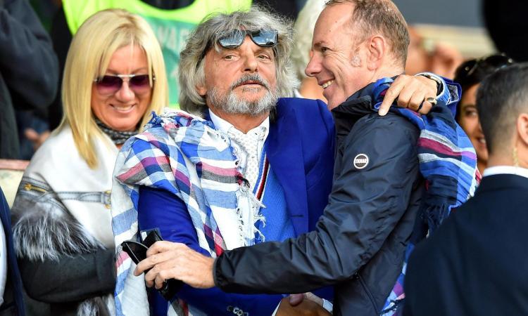 Mantovani: 'Ferrero ha fatto bene alla Samp, ma ceda in fretta. Su Vialli...'