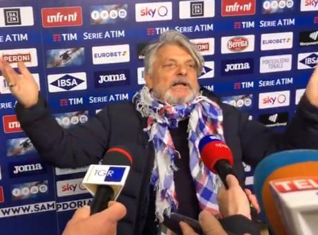 Ferrero esplode dopo il derby: 'L'ultimo derby? Ve lo attaccate al c...' E poi lo show alla Mourinho VIDEO
