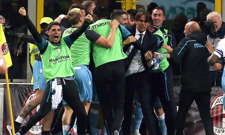 Correa stende il Milan: 0-1 a San Siro, Lazio in finale di Coppa Italia