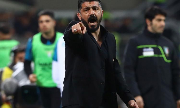 Milan, Gattuso: 'Noi fortunati ma ingenui. Forse non sono abbastanza bravo...'