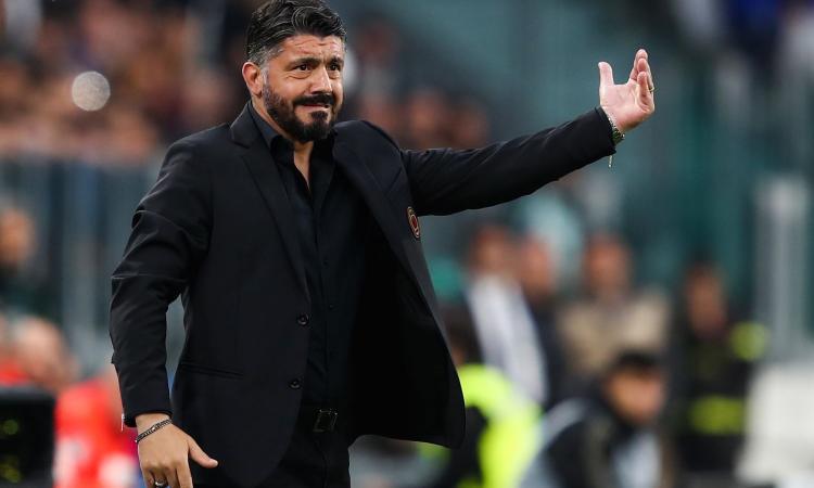 Milan: Gattuso resta fino al termine della stagione, niente ritiro punitivo