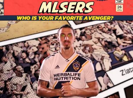 MLS e Avengers, Ibra non ha dubbi: 'Hulk è il mio preferito'. Da Rooney ad Altidore: svelati gli idoli