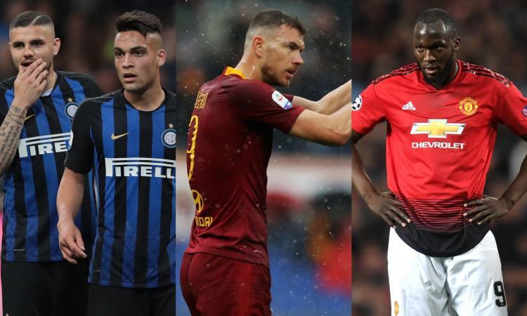 Inter, possono essere due i colpi in attacco: non solo Dzeko, tutti i nomi