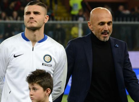L'Inter domina, Icardi batte Spalletti