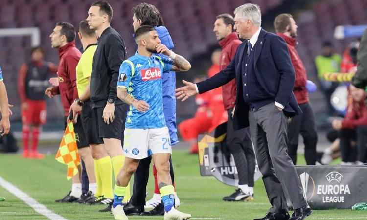 Napolimania: Ancelotti e il caso Insigne, c'è l'interesse del Milan