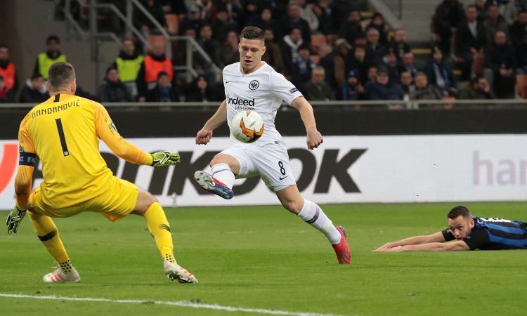 Eintracht, UFFICIALE: riscattato Jovic