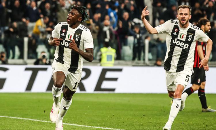 Juventus, Pjanic: 'Teniamoci stretto Kean, ora obiettivo Champions'