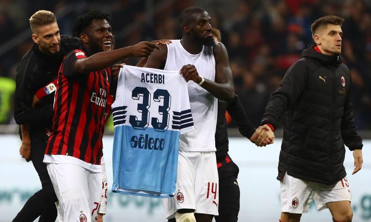 Milan-Lazio, chiesta prova tv per Kessie e Bakayoko