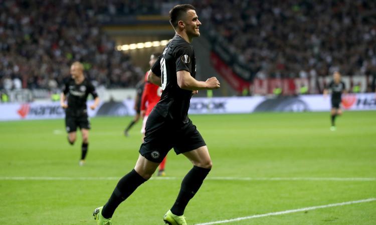 Eintracht Francoforte, UFFICIALE: Kostic rinnova fino al 2023