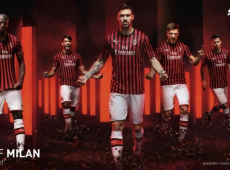 Milan, ecco l'anticipazione della prima maglia per la stagione 2019/2020 FOTO