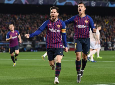 Messi show, il Barcellona fa fuori il Manchester United: 3-0