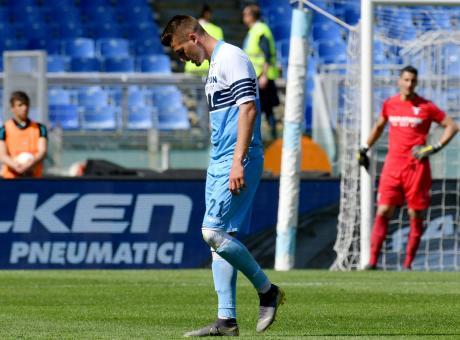 Suicidio Lazio, Milinkovic senza testa. Inzaghi si gioca la panchina col Milan