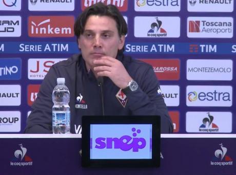 Montella: 'Chiesa può giocare nella Juve. Ronaldo? Ne parlammo al Milan' VIDEO