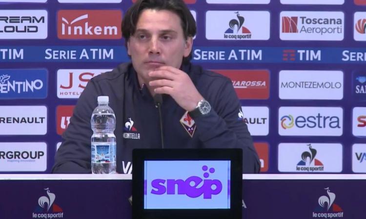 Fiorentina, Montella: 'Squalifica? Mi scuso anche con il ragazzo, è giusto che io paghi'