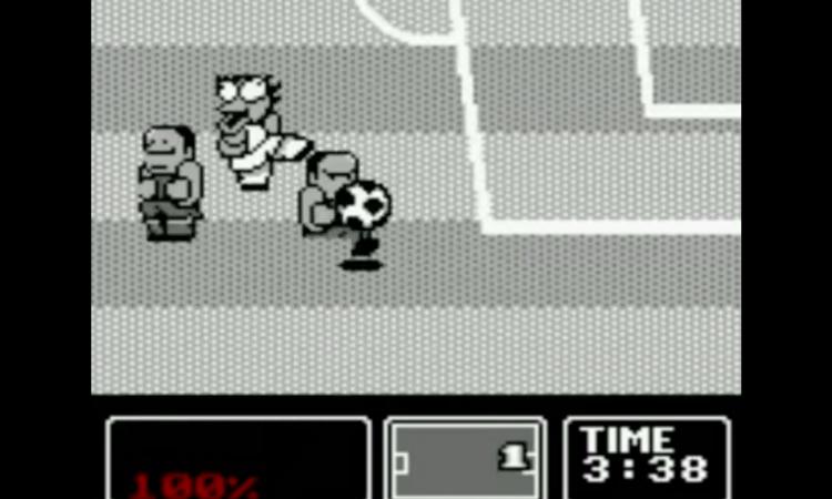 30 anni di Game Boy: Nintendo World Cup il gioco più bello di sempre! Le spallate sul campo ghiacciato...