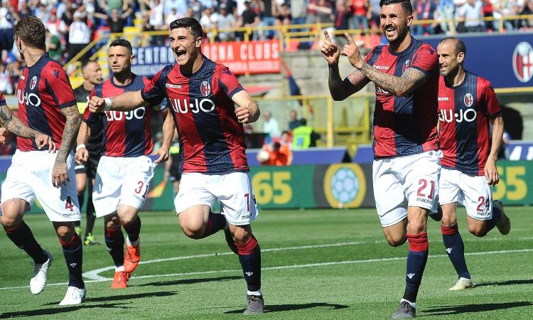 Bologna subito in campo dopo il ko con il Sassuolo: in cinque ai box