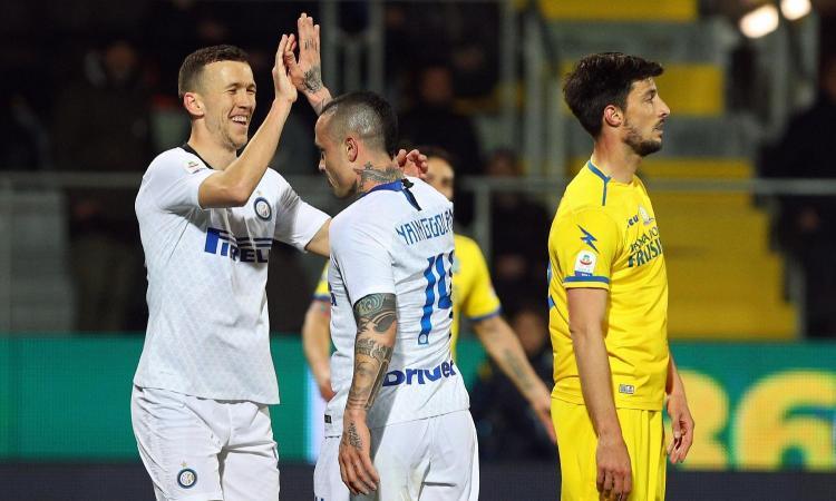 Frosinone-Inter 1-3: il tabellino