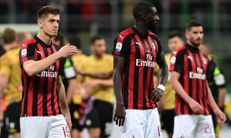 Milan, è crisi! Gattuso si accontenta del pareggio e di una squadra senza gioco