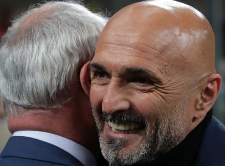 L'Inter vede la Champions: l'1-1 serve più a Spalletti che a Ranieri