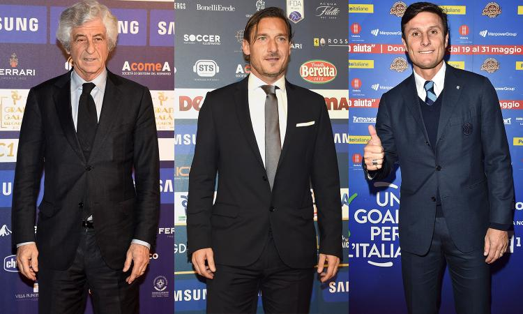 Roma, Totti sogna più poteri: da Rivera a Zanetti, ex campioni un flop in società